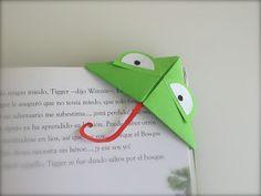 DIY: Marcapáginas de Origami Animal ~ Childstorming