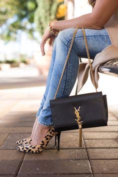 Ysl Assandre Small Tassel Crossbody Bag Fashionjackson