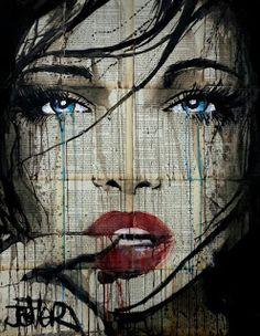 Art by Loui Jover; Collage Portrait, Collage Art, Portraits, Arte Pop, Desenho New School, Newspaper Art, Poster Art, Desenho Tattoo, Buy Art Online