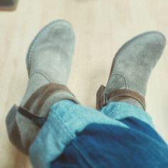 #handmade #suede #greek #shoes #boots #fashion #style #new   These boots are made for walking!!love them!