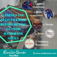 5 THINGS YOU NEED TO KNOW BEFORE BUYING CUSTOM HANDMADE SHOES