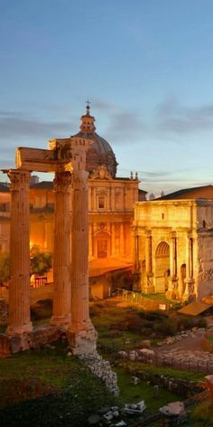 The Roman Forum, Rome Italy. I will see you again. :) One day.