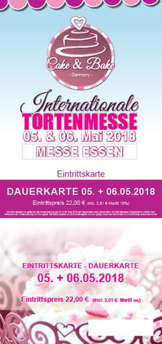 Dauerkarte - 05.05.2018 + 06.05.2018