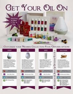 Premium starter kit with young living essential oils