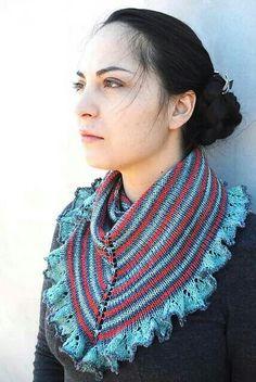 Sea fare knit cowl