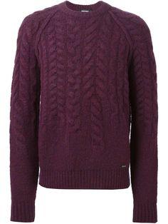 Dsquared2 Cable Knit Sweater - Stefania Mode - Farfetch.com
