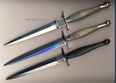 Fairbairn Sykes Commando knives