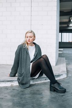 Get this look: http://lb.nu/look/7190276  More looks by Louise Amelie Whitehouse: http://lb.nu/louisewhitehouse  Items in this look:  Cos Dress, Monki Coat, Vagabond   #artistic #casual #minimal