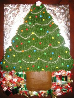 Pull apart Christmas Tree Cake