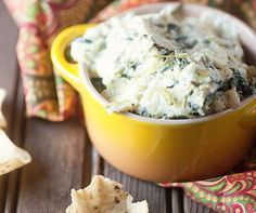 The Best Spinach Artichoke Dip!