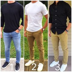 Pin by mona nasr on moody outfit pakaian pria, pakaian kasua Best Casual Outfits, Casual Wear, Men Casual, Men's Outfits, Casual Menswear, Mens Business Casual Jeans, Nice Outfits For Men, Fashion Outfits, Sweater Outfits