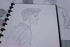 Drawing of Zayn Malik