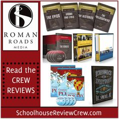 Roman Roads Media is a company renowned for publishing Classical, Christian curriculum for homeschoolers.  Their products combine technology resources with high quality instruction to help your child love learning.  #homeschool #classical #hsreviews