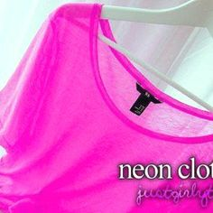 neon clothes are zumba style