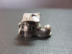 Vintage Sterling Silver Shoe House Charm by VintageGypsies on Etsy, $32.00