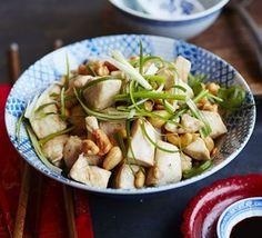 Cashew chicken.     Ken Hom