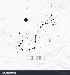 tattoo scorpion constellation - Google Search                                                                                                                                                                                 Mais