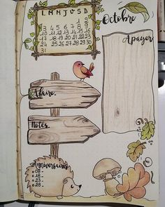 Bullet journal - octobre