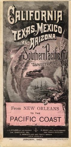 Southern Pacific Company Map, 1892 Call to more than 40 countries Landlines and cell phones Monthly fee of only US$49.90 Try it now for 1 hour. IT IS FREE and First Month Free on me! E-Mail me the invoice# http://ptaylor.worldgn.com