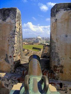UNESCO World Heritage Site - Fort San Cristobal. San Juan, Puerto Rico (listed under the USA)