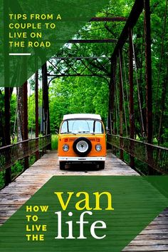 One couple has been traveling around the United States in one van. Hear their tips, tricks, and stories about living life on the road, and why they did it.