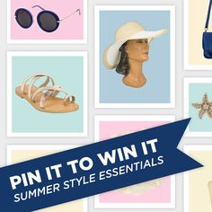 Show us your summer style and you could win an item from your board! Check out the blog for more details.