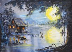 Love bayou themed things, and if I could live in the LA or TX bayou, I would.
