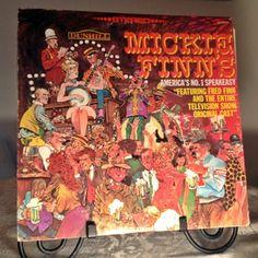 Vintage Album Mickie Finn's No. 1 Speakeasy Vinyl Record (8.00 USD) by vintagepoetic
