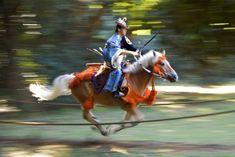 Yabusame, a Japanese mounted archer