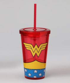 Take a look at this Wonder Woman Cold Cup on zulily today!