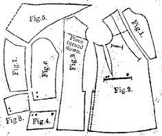 4 to 8 year old boys' coat, Harper's Bazaar- 1887.