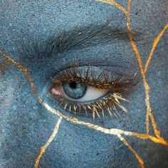 ~ by Sara Engel Ejstrup, Odense, Denmark Kintsugi, Writing Inspiration, Makeup Inspiration, Character Inspiration, The Wicked The Divine, Into The Fire, Ravenclaw, Guardians Of The Galaxy, Japanese Art
