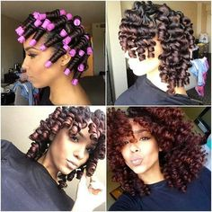 perm rod twist out