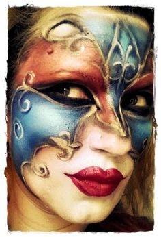 #makeup #artistic #fantasy #maquillaje #artístico #máscara #veneciana