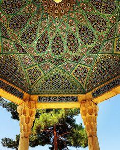 Tomba di Hafez a Shiraz