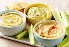 6 Simple Hummus Vari