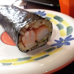 Purple Peanuts Japanese Cafe (CBD): Prawn & Avocado Brown Rice Sushi [10/10].