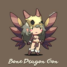 Bone Dragon Gon by Kosawida