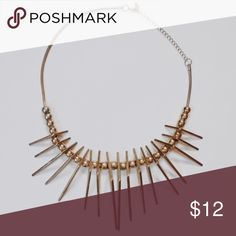 ALDO Statement Necklace A wardrobe win with this gold tone necklace statement piece. Some fading but sure to accentuate any ensemble. Aldo Jewelry Necklaces