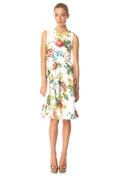 Gwendoline Flower Dress - Dresses - French Connection