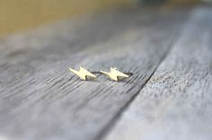 Lightning Bolt Stud Earrings, $12 | 56 Totally Wearable Harry Potter-Themed Accessories