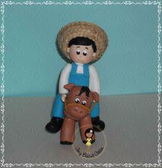 Cowboy em biscuit