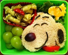 Adorable kid lunches.