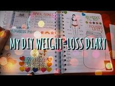 My DIY Weight-Loss Diary - I keep a weight-loss diary to keep track of my progress and to motivate me whilst losing weight and getting fit. In this video I show everything in my weig