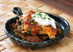 Make This Cheesy Burrito Casserole Recipe with Beef and Beans