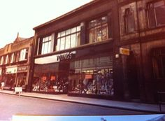 Youngs Department store in Falkirk town centre (pic courtesy of David Mackintosh).