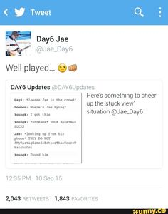 Jaehyung's Hashtags