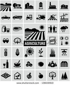 Find Agriculture Icons stock images in HD and millions of other royalty-free stock photos, illustrations and vectors in the Shutterstock collection. Logos, Farm Logo, Pictogram, Stock Photos, Vector, Farm, Agriculture Design, Icon, Image