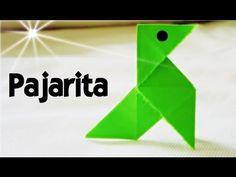 Cómo hacer una Pajarita de Papel - Papiroflexia - YouTube