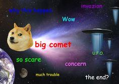 Comet Ison Doge meme
